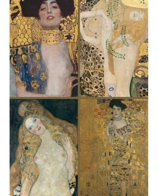 Puzzle Piatnik - Gustav Klimt: Collection of works, 1.000 piese (5388)