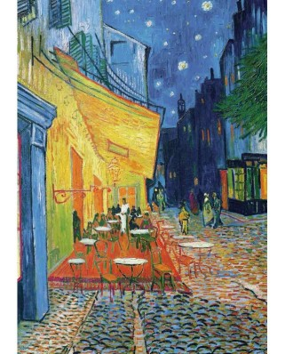 Puzzle Piatnik - Vincent Van Gogh: The Coffee in the Evening, 1.000 piese (5390)