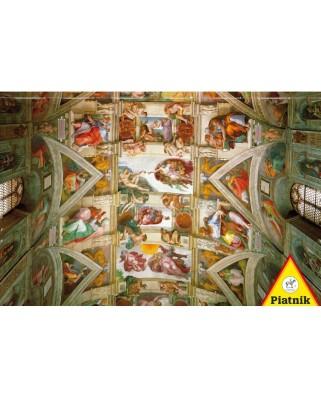 Puzzle Piatnik - Michelangelo Buonarroti: The Sistine Chapel, 1.000 piese (5393)