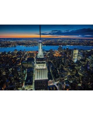 Puzzle Piatnik - New York by Night, 1.000 piese (5411)