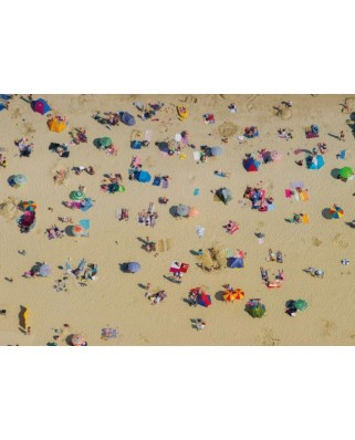 Puzzle Piatnik - Beach from Above, 1.000 piese (5412)