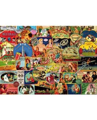 Puzzle Piatnik - Needle Books, 1.000 piese (5414)