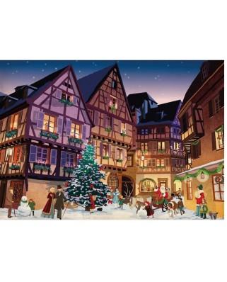 Puzzle Piatnik - Vintage Christmas Village, 1.000 piese (5442)