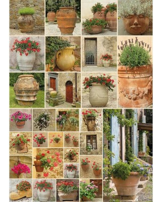 Puzzle Piatnik - Collage - Flowers, 1.000 piese (5455)