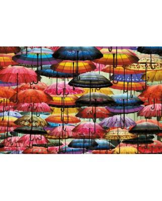 Puzzle Piatnik - Colorful Umbrellas, 1.000 piese (5487)