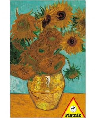 Puzzle Piatnik - Vincent Van Gogh: The Sunflowers, 1.000 piese (5617)