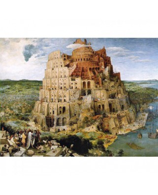 Puzzle Piatnik - Pieter Bruegel: The Tower of Babel, 1.000 piese (5639)