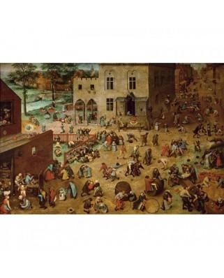 Puzzle Piatnik - Pieter Bruegel: Children's Games, 1.000 piese (5677)