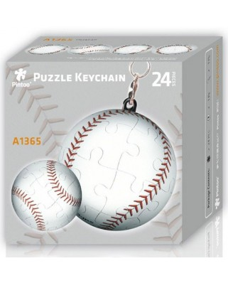 Puzzle 3D Pintoo - Keychain Baseball, 24 piese (A1365)