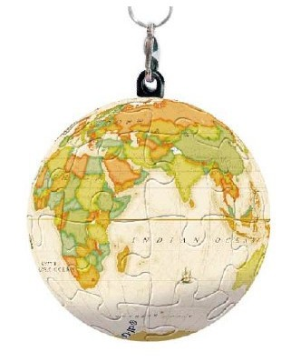 Puzzle 3D Pintoo - Keychain Globe, 24 piese (A2843)