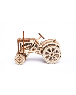 Puzzle 3D din lemn Wooden.City - Tractor, 164 piese (Wooden-City-WR318-8206)