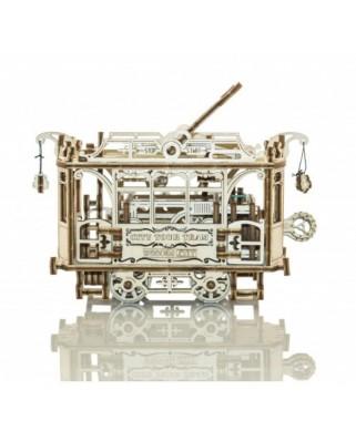 Puzzle 3D din lemn Wooden.City - City Tram, 159 piese (Wooden-City-WR325-8497)