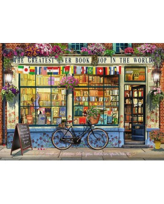 Puzzle Ravensburger - Librarie Grozava, 1.000 piese (15337)