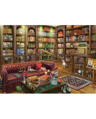 Puzzle Ravensburger - Sala De Lectura, 1.000 piese (19846)