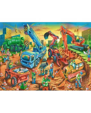 Puzzle Ravensburger - Echipa Pe Santier, 60 piese (09517)