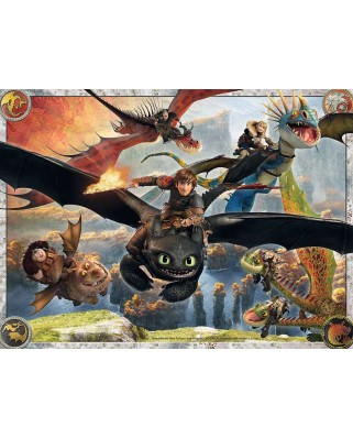 Puzzle Ravensburger - Dragons, 150 piese (10015)