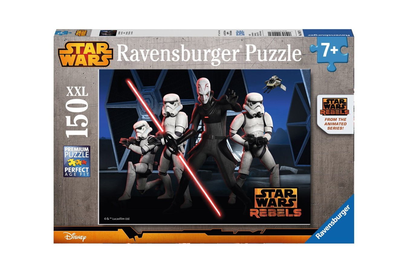 Puzzle Ravensburger - Star Wars Rebels, 150 piese (10017)