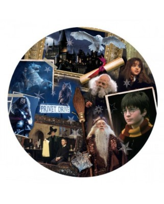 Puzzle Winning Moves - Harry Potter Philosopher's Stone, 500 piese (Winning-Moves-02480)