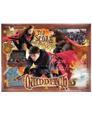 Puzzle Winning Moves - Harry Potter - Quidditch, 1.000 piese (Winning-Moves-02497)