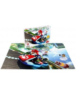 Puzzle Winning Moves - Super Mario - Mario Kart Fun Racer, 1.000 piese (Winning-Moves-02948)