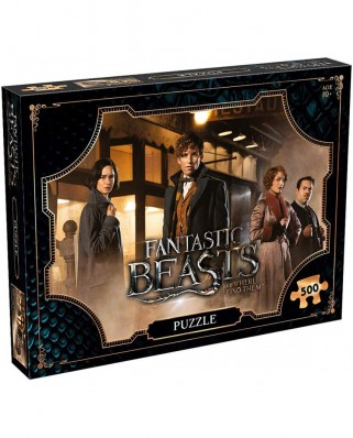 Puzzle Winning Moves - Fantastic Beasts and Where to Find Them, 500 piese (Winning-Moves-33091)