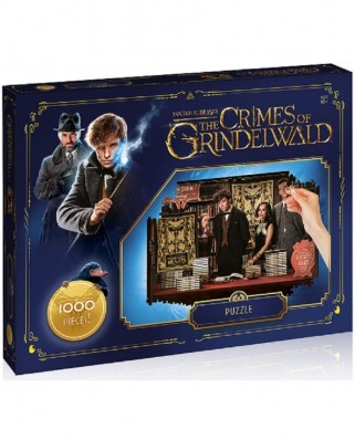 Puzzle Winning Moves - Fantastic Beasts - The Crimes of Grindelwald, 1.000 piese (Winning-Moves-35064)