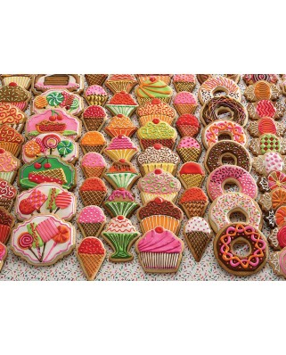 Puzzle Cobble Hill - Sweet Treats, 350 piese XXL (Cobble-Hill-54631)