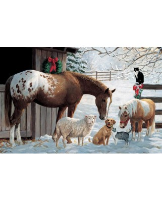 Puzzle Cobble Hill - Barnyard Greetings, 35 piese (Cobble-Hill-58857)
