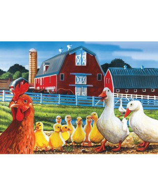 Puzzle Cobble Hill - Dwight's Ducks, 35 piese (Cobble-Hill-58864)