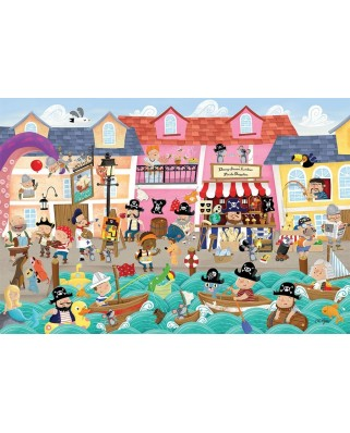 Puzzle Cobble Hill - A Pirate's Life, 35 piese (Cobble-Hill-58878)