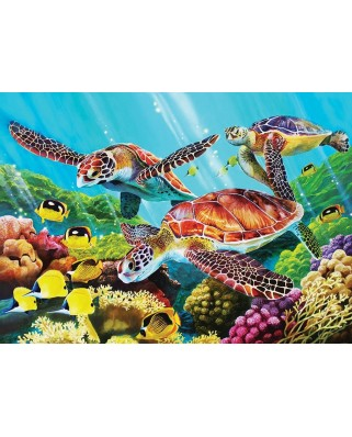 Puzzle Cobble Hill - Molokini Sea, 35 piese (Cobble-Hill-58879)
