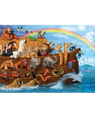 Puzzle Cobble Hill - Voyage of the Ark, 35 piese (Cobble-Hill-58881)