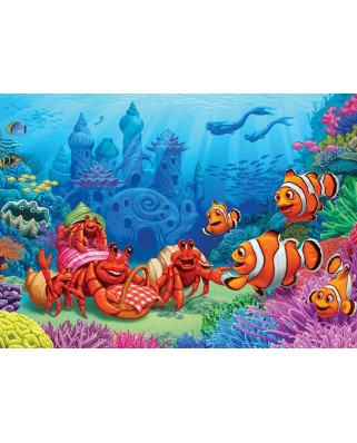 Puzzle Cobble Hill - Clownfish Gathering, 35 piese (Cobble-Hill-58882)