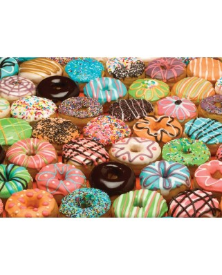Puzzle Cobble Hill - Doughnuts, 1.000 piese (Cobble-Hill-70028)