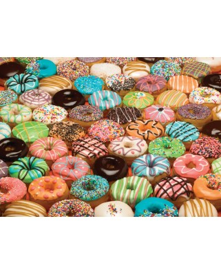Puzzle Cobble Hill - Doughnuts, 1.000 piese (Cobble-Hill-80035)
