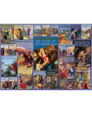 Puzzle Cobble Hill - Vintage Nancy Drew, 1.000 piese (Cobble-Hill-80051)