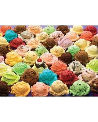 Puzzle Cobble Hill - Ice cream, 1.000 piese (Cobble-Hill-80061)