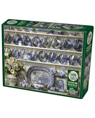 Puzzle Cobble Hill - China Hutch, 1.000 piese (Cobble-Hill-80064)