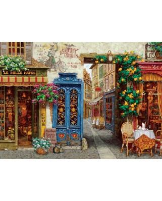 Puzzle Cobble Hill - Rue Lafayette, 1.000 piese (Cobble-Hill-80076)