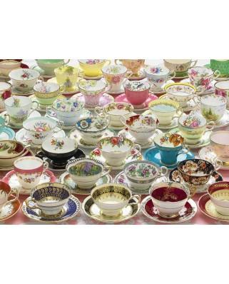 Puzzle Cobble Hill - More Teacups, 1.000 piese (Cobble-Hill-80084)