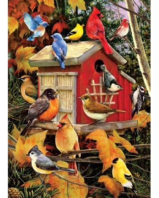 Puzzle Cobble Hill - Fall Birds, 1000 piese (Cobble-Hill-80100)
