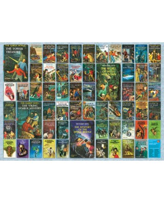 Puzzle Cobble Hill - Hardy Boys, 1.000 piese (Cobble-Hill-80101)