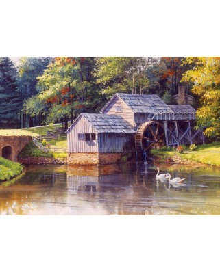 Puzzle Cobble Hill - Mabry Mill, 1.000 piese (Cobble-Hill-80111)