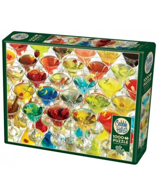 Puzzle Cobble Hill - Martinis!, 1.000 piese (Cobble-Hill-80121)