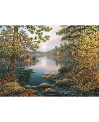 Puzzle Cobble Hill - Deer Lake, 1.000 piese (Cobble-Hill-80139)
