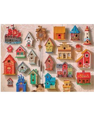 Puzzle Cobble Hill - Puz Cuckoo & Friends, 1.000 piese (Cobble-Hill-80152)