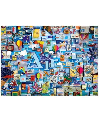 Puzzle Cobble Hill - Air, 1.000 piese (Cobble-Hill-80170)