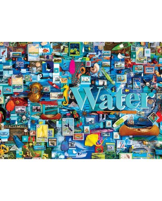 Puzzle Cobble Hill - Water, 1.000 piese (Cobble-Hill-80171)