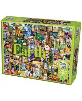 Puzzle Cobble Hill - Earth, 1.000 piese (Cobble-Hill-80172)