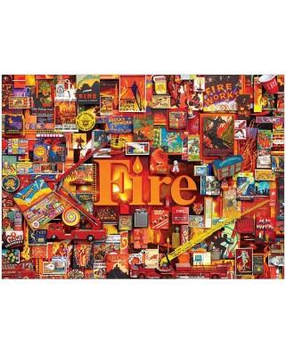 Puzzle Cobble Hill - Fire, 1.000 piese (Cobble-Hill-80173)